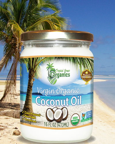 31oz Virgin Organic Coconut Oil